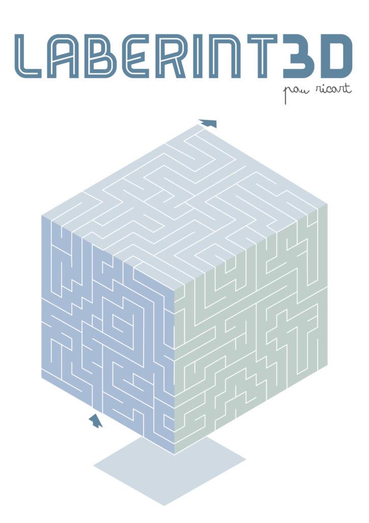 Laberinto 3D. Diseño Editorial. Creación de contenidos