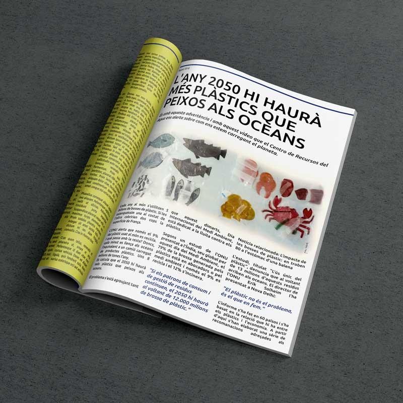 I·lustració Editorial, creació de continguts visuals